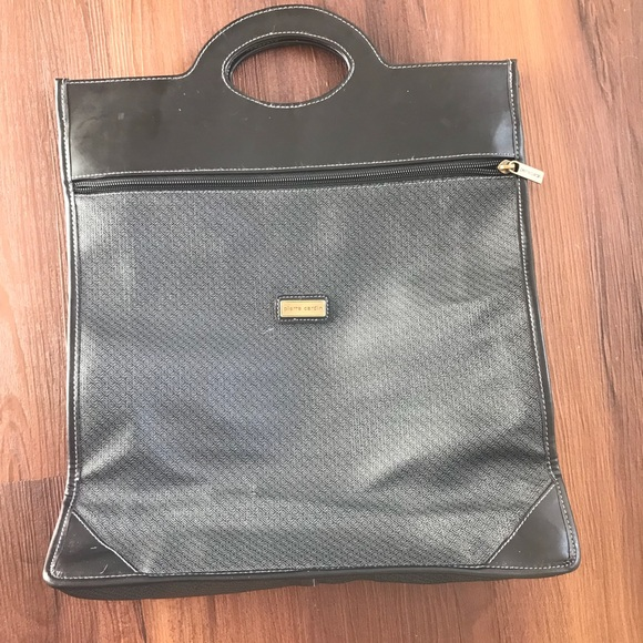 196f89a3518 Pierre Cardin Bags | Gray And Black Tote Purse | Poshmark